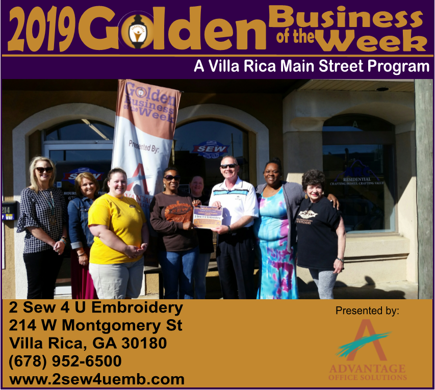 How To Profit From A Home Sewing Business: GOLDEN BUSINESS OF THE WEEK: April 16-21, 2019: 2 SEW 4 U